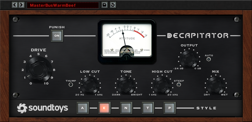 SoundToys' Decapitator