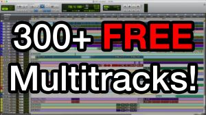 300+ Free Multitracks
