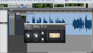 A vocal compressor in Pro Tools