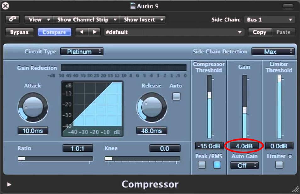 Logic 9 Compressor