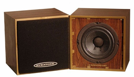 Auratone studio monitors
