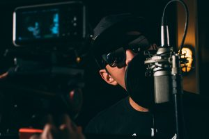Vocal mixing tip—don't forget a pop filter!