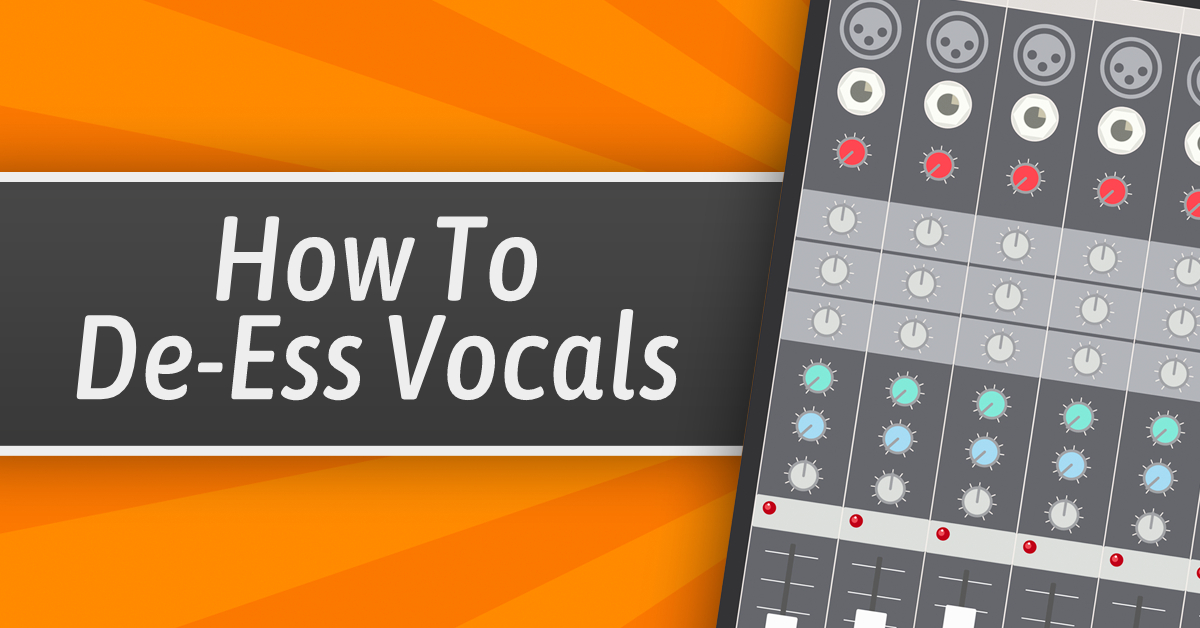 How To Use A De-Esser To Make Your Vocals Sound Pro - Behind