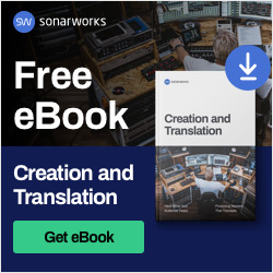 Free 'Creation and Translation' eBook from Sonarworks