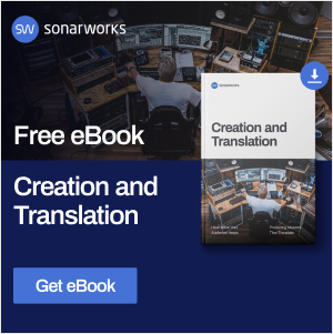 Sonarworks Creation and Translation eBook